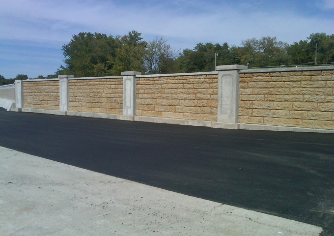 Mad Creek Floodwall, Muscatine, IA
